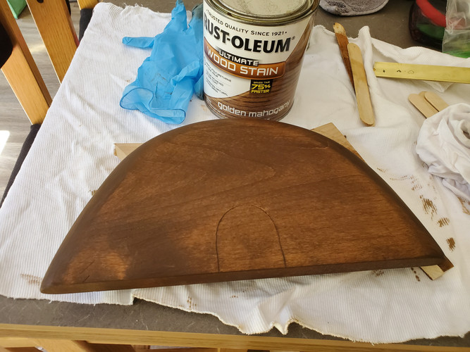First Stain Layer