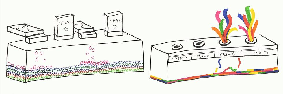 Task Celebrator Sketches