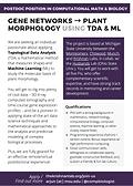 Open Postdoc Position – Computational Math and Biology – Krishnan Lab, MSU