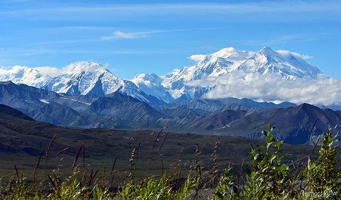Denali and Mt Foraker