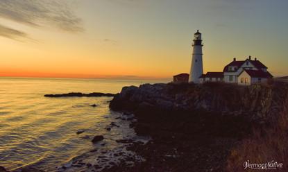 Sunrise on Portland Head