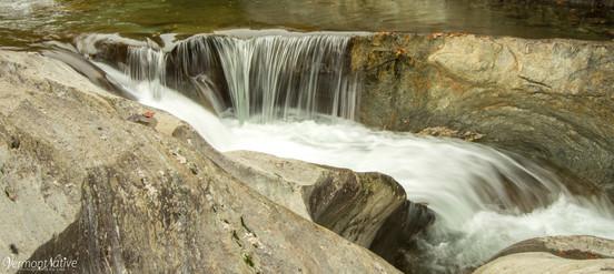 Small Falls in the River