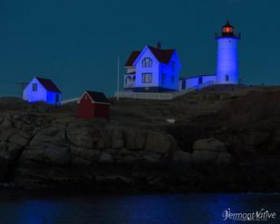 Blue Nubble Lighthouse