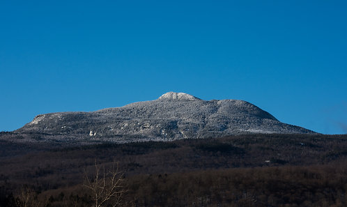 Camel's Hump with Snow