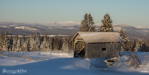 Winter Day on Cabot Plains