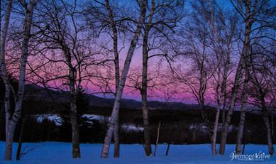 Winter Sunrise Colors