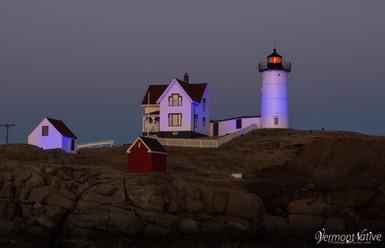 Purple Nubble Lighthouse