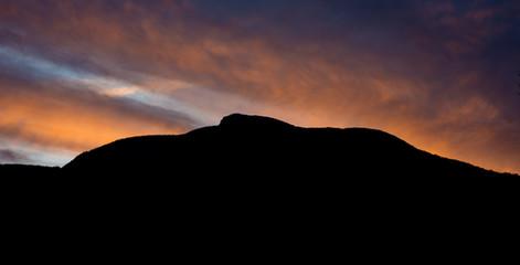 Camel's Hump at Sunset