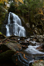 Moss Glen Falls in the Fall