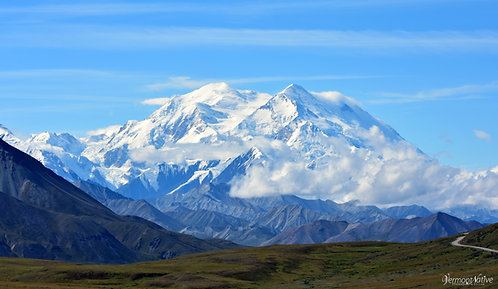 Denali with Clouds