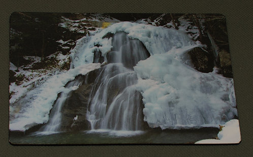 Moss Glen Falls with Ice
