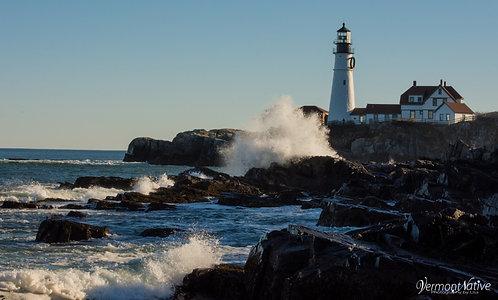 Portland Head with Waves