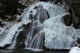 Ice Covered Moss Glen Falls