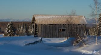 Winter Camel's Hump with Bridge