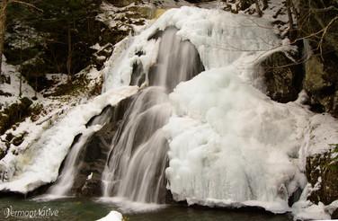 Frozen Moss Glen Falls