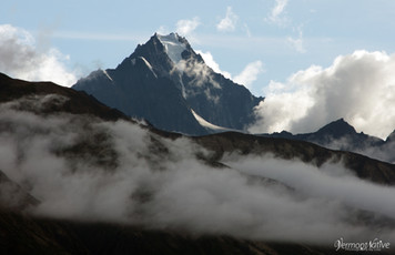 Chugach Mtn in Clouds