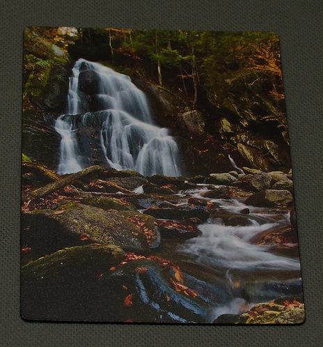 Moss Glen Falls up the Brook