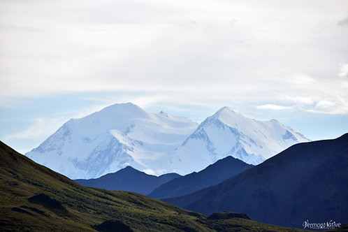 Denali in the afternoon