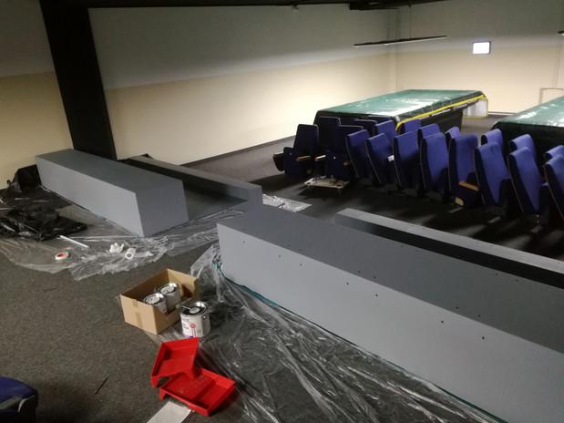 Unsere Kino-Sessel sind da, um das Kino-Feeling beizubehalten!