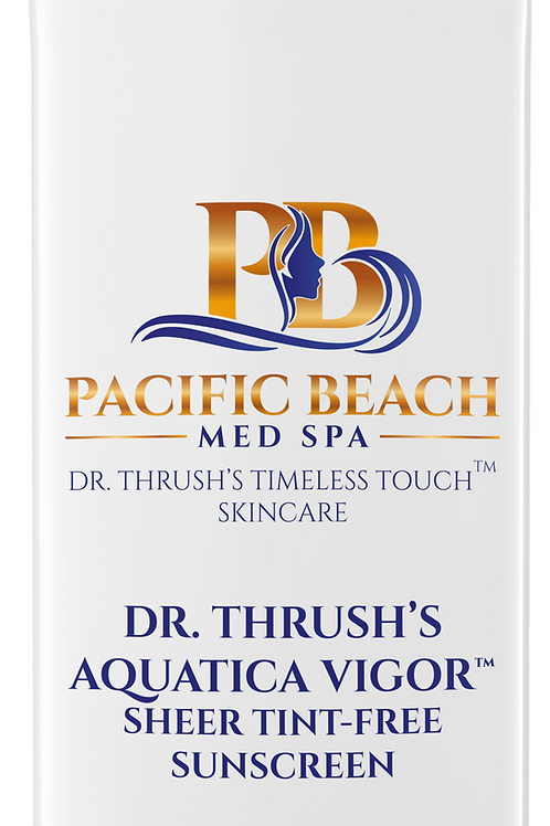 Dr. Thrush's Aquatica Vigor™ Sheer Tint-Free Sunscreen