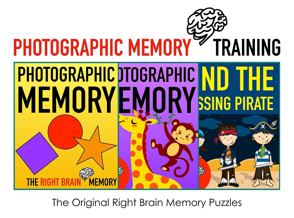 "photographic memory games video ""worksheet"" for Heguru and Shichida at home."