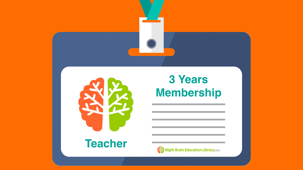 3 Years Membership for Teacher