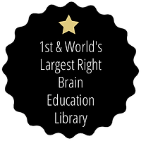 1st & World's Largest Right Brain Education Library