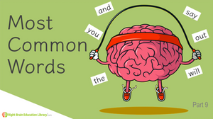 Most Common Words Flashcards