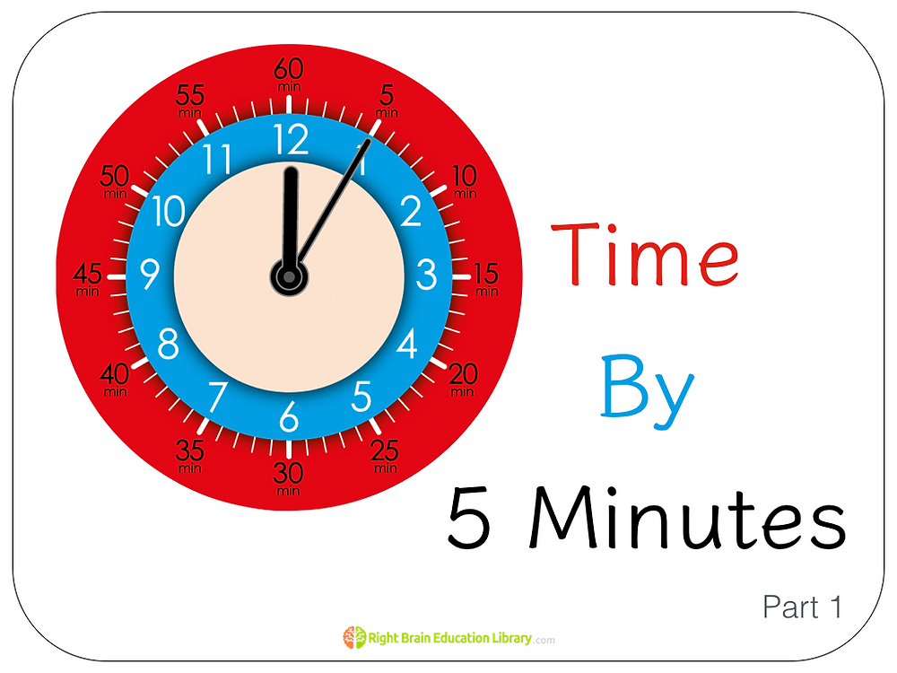 """Learn to Tell the Time"" using Shichida and Heguru Method"