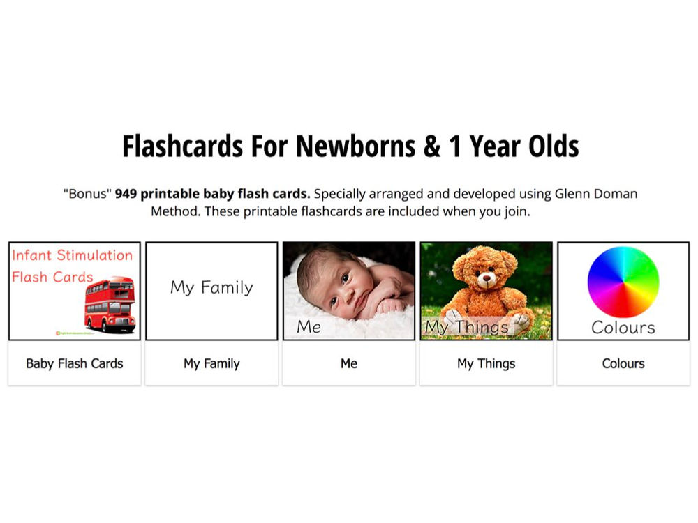 picture relating to Printable Baby Flash Cards known as The Excellent Flashcards For 0, 1, 2 and 3 12 months Olds