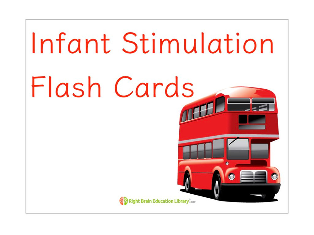 Infant Stimulation Flash cards