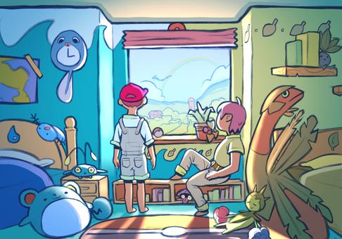 Pokemon Rooms