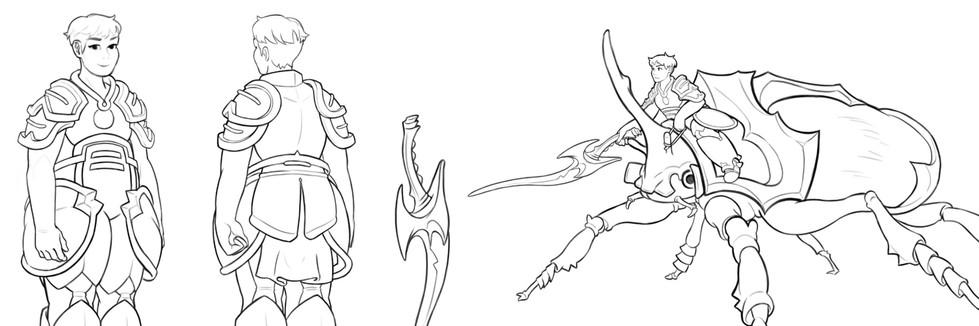 POND Character Design