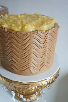 German Chocolate Party Cake