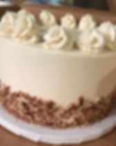 Butter Pecan Party Cake