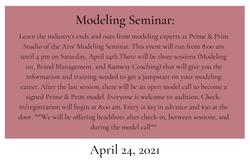 Modeling Seminar
