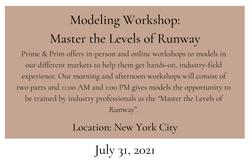 Modeling Workshop