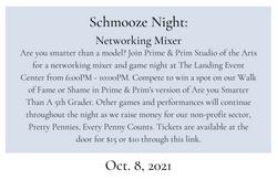 Schmooze Night