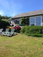 Kelyn-Mor, one of Bryher Holiday Chalets, self catering accommodation on Bryher, Isles of Scilly