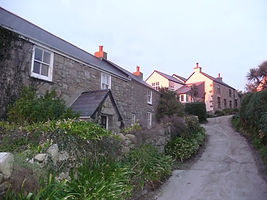 Glenhope, Glenhope High & Atlanta, self catering holiday accommodation on Bryher, Isles of Scilly