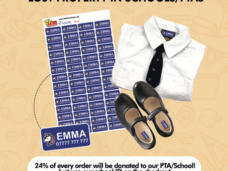 Help raise money for St John's PSA and never lose anything again!