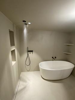 Réalisation d'une salle de bain à Toulou