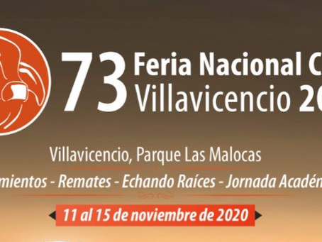 LA 73 FERIA NACIONAL CEBÚ REGRESA A LOS LLANOS ORIENTALES