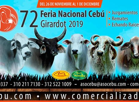 Girardot, corazón de Colombia, la casa de la 72 Feria Nacional Cebú
