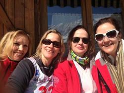 Norwegians in Abetone, Italy.