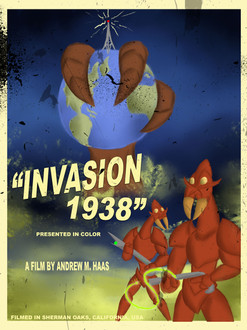 """Invasion 1938"" Poster"