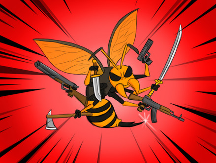 Muder Hornet