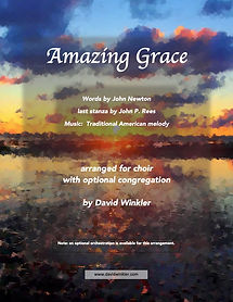 Amazing Grace (Choir opt. Cong.) - Cover