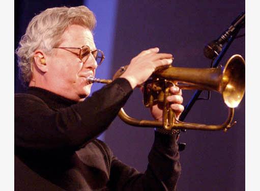 Fletch Wiley playing fluegelhorn