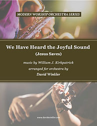 We Have Heard the Joyful Sound - Cover A